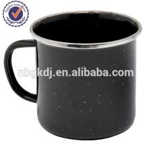 black enamelware joyshaker cup made in china