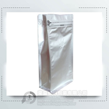 Resealable Plastic Coffee Packaging Bag
