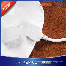 220V Ce/GS/CB/RoHS Washable Electric Bed Warmer/Heating Blanket