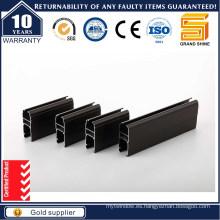Perfil de Aluminio Negro Andoiz para Ventana y Puerta (Sistema Chile)
