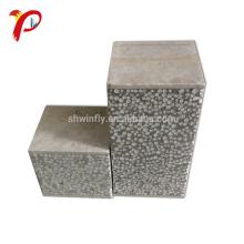 Painel de parede concreto impermeável à prova de som do sanduíche dos materiais de construção Eps do telhado