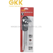 Hex Key Wrench Set with Extra Long Length Hand Tool