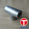 TORICH Welded and Seamless Stainless Steel Straight Tee