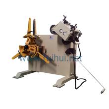 Máquina de endireitamento de material para transferência de material