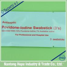bandelette stérile jetable d'iode de povidone