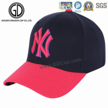 Clásico Ny estilo gran calidad golf gorra de béisbol con bordado