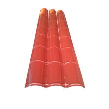Farbstahl Roof Ridge Cap Roll Formmaschine