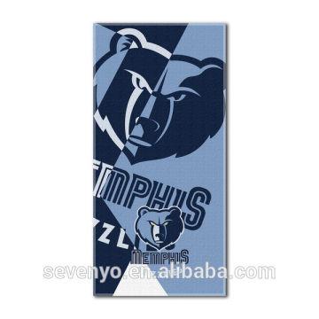 basketball Grizzlies Puzzle Beach Towel Beach Towel 100% cotton BT-107