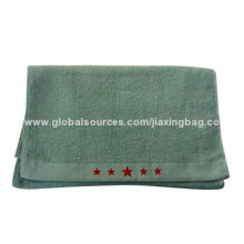 Green Micro Fibre Towels, OEM Orders are Welcome