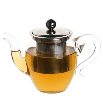 Reliable for Glass Tea Cups Handmade Little Teapot with Stainless Steel Infuser export to Turkmenistan Factory