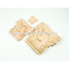 wood furniture parts Carved Traditional Wood Capitals for Column