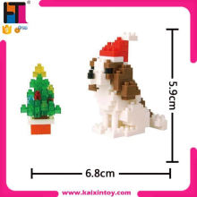 best present for children 165pcs DIY plastic building blocks christmas dog gift