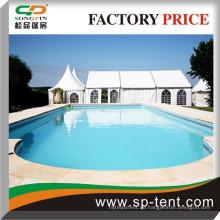 15x20m Spannrahmen Zelt für Zeremonie mit PVC-Fenster