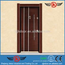 JK-AT9002 Fabricação de porta de madeira de aço blindado na Turquia