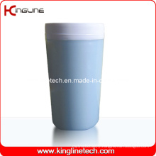 300ml Plastic Double Layer Cup Lid (KL-5012)