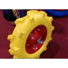 PU Flat Free Foam Wheel for Wheel Barrow