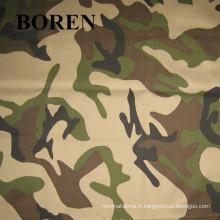 Tissu couleur camouflage étanche pour les voyages