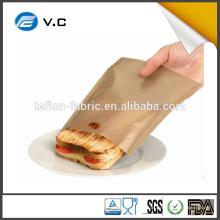 Toastabags réutilisables Paquet double de fromage grillé dans votre grille-pain Pas d'agitation sans mess