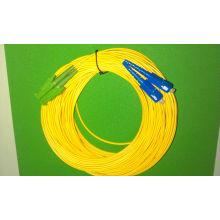 Cordon de raccordement fibre optique E2000 / APC-SC / PC