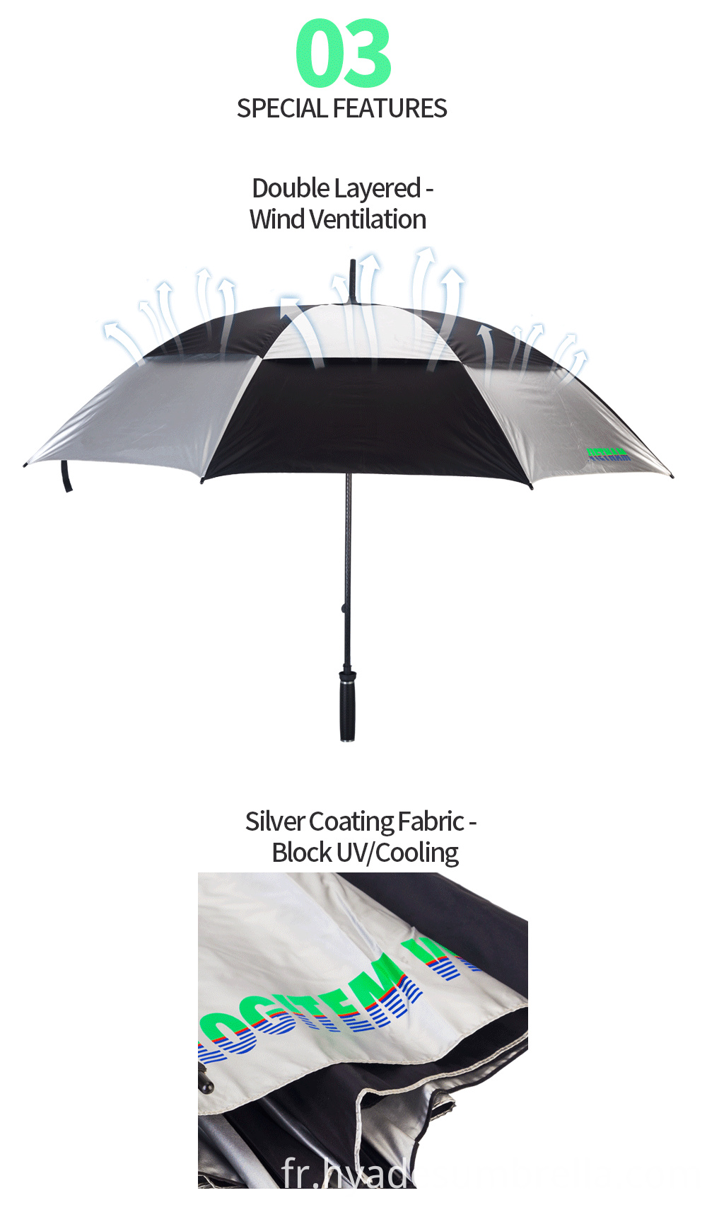 Product Descrption Page Windproof Double Layered 04