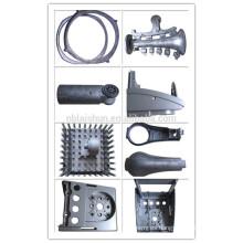 De aleación de aluminio de extrusión de costumbre de calor de fregadero llevó las partes de aluminio