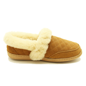 women's indoor outdoor warmest winter fur slippers