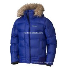heiße Verkauf Winter Mädchen Daunenjacke in blau