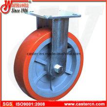 Roulette fixe en polypropylène à 6 pouces et 6 pouces