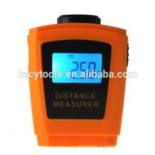 Medidor de distância ultra-sônico portátil do LCD com ponteiro do laser / medidor de distância do sensor ultra-sônico