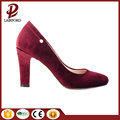 special suede upper middle heels pumps shoes