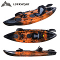 Alibaba online trade show sell 1 person single sit on fishing recreational kayak