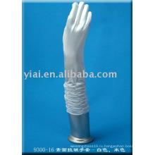 2013 свадебные перчатки с пальцами локоть 002