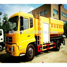 4X2 Dongfeng SinoTruck Réservoir d'aspiration des eaux usées / d'aspiration des eaux usées camion / aspirateur camion / eaux usées propre camion / pompe à eaux usées camion