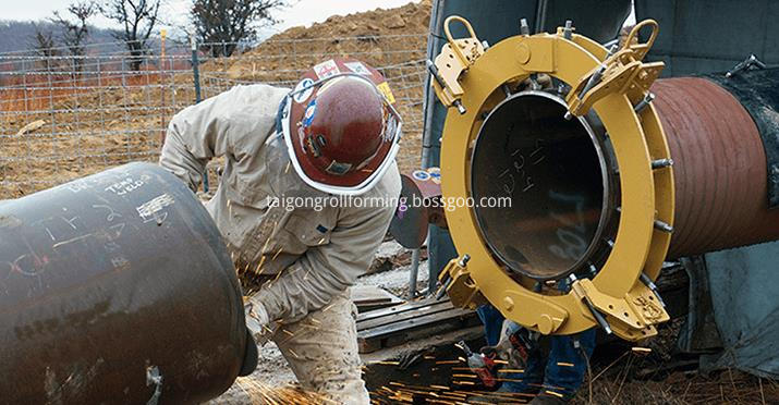 Welded Steel Pipe Machine