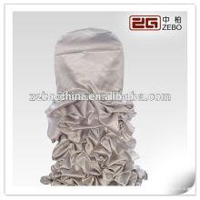 Модная дизайнерская прямая фабрика сделанная изготовлением на заказ крышки стула венчания оптом
