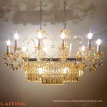 Candelabro de cristal da lâmpada do casamento do estilo americano lâmpada made in China 81029