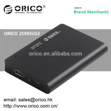 "ORICO 2598SUS3 2.5"" hdd external usb3.0 esata enclousre"