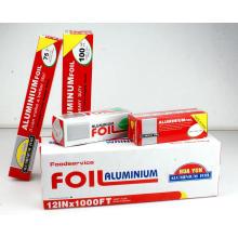 Алюминиевая / алюминиевая фольга для пищевых продуктов в стандарте FDA