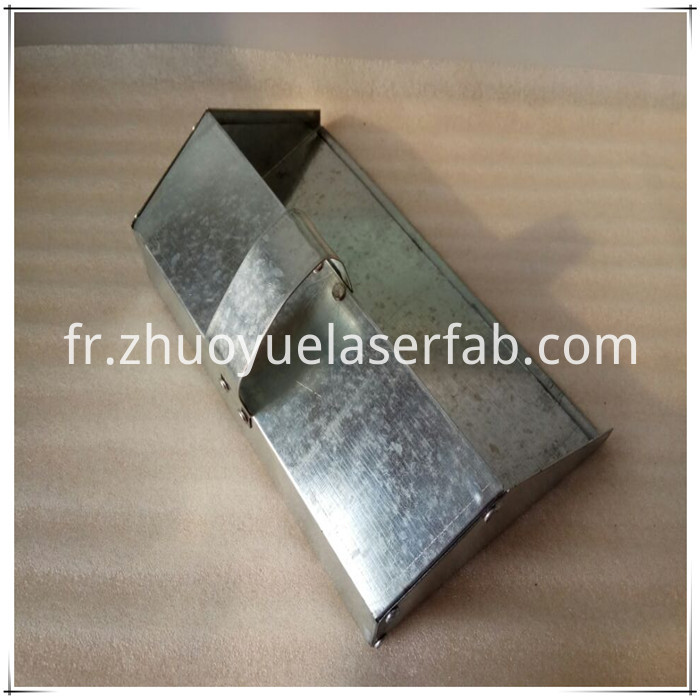 Galvanized steel dustpan