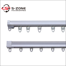 Solid Single PVC Curtain rail and track
