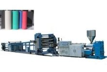 Pvc Plastic Sheet Extrusion Line For Abs Pp Pe Plastic Sheets