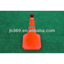 Manufacture of collapsible/folding/retracable traffic safety cone with size 500mm/600mm/700mm
