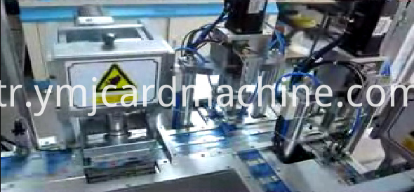 Three Stations SIM Card Punching Machine