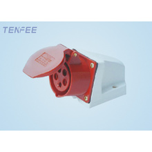 16a 5P wall mounted socket industrial socket IP44