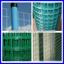 Neues Design für 2014 schöne Export PVC Euro Zaun (niedriger Preis und ISO Qualität)