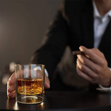 Old Fashioned Whisky Tumbler Coquetéis Presentes Whisky Glass Set