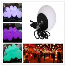 300mm PE RGB LED Hanging Bulb