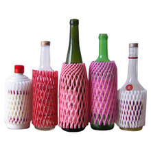 Popular Singapore Foam Plastic Sleeve Netting Protector for Wine Bottle Packaging