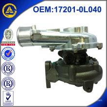 CT16V 17201-OL040 Autopartes Motor Turbocompresor