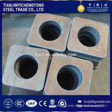 Wire cutting laser cutting thick steel plate for saw metal fabrication service